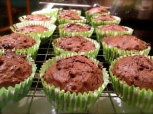 Dark Chocolate and Lime Muffins - The Usual Saucepans