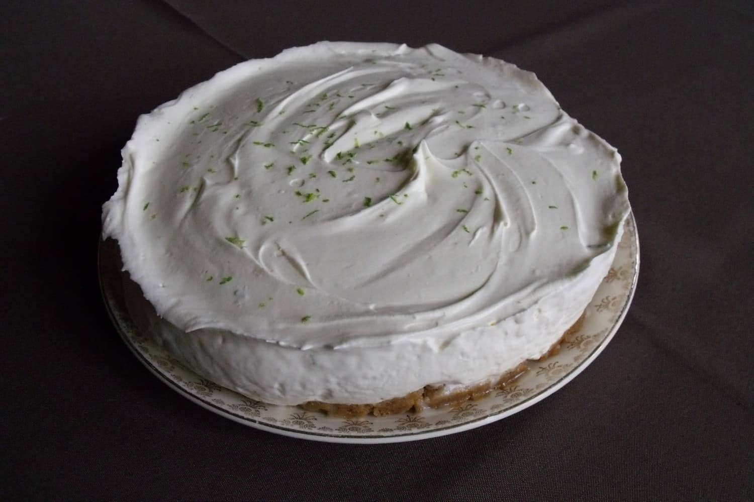 Gin and Lime Cheesecake