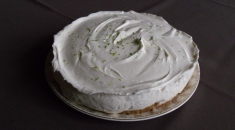 my Gin and Lime Cheesecake