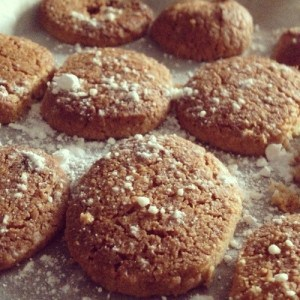Cinnamon and Ginger Shortbread