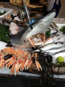 Borough Market Fish Stall