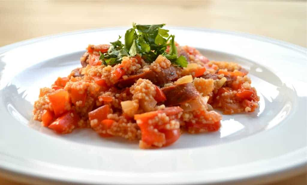 Spicy Chorizo Cous Cous