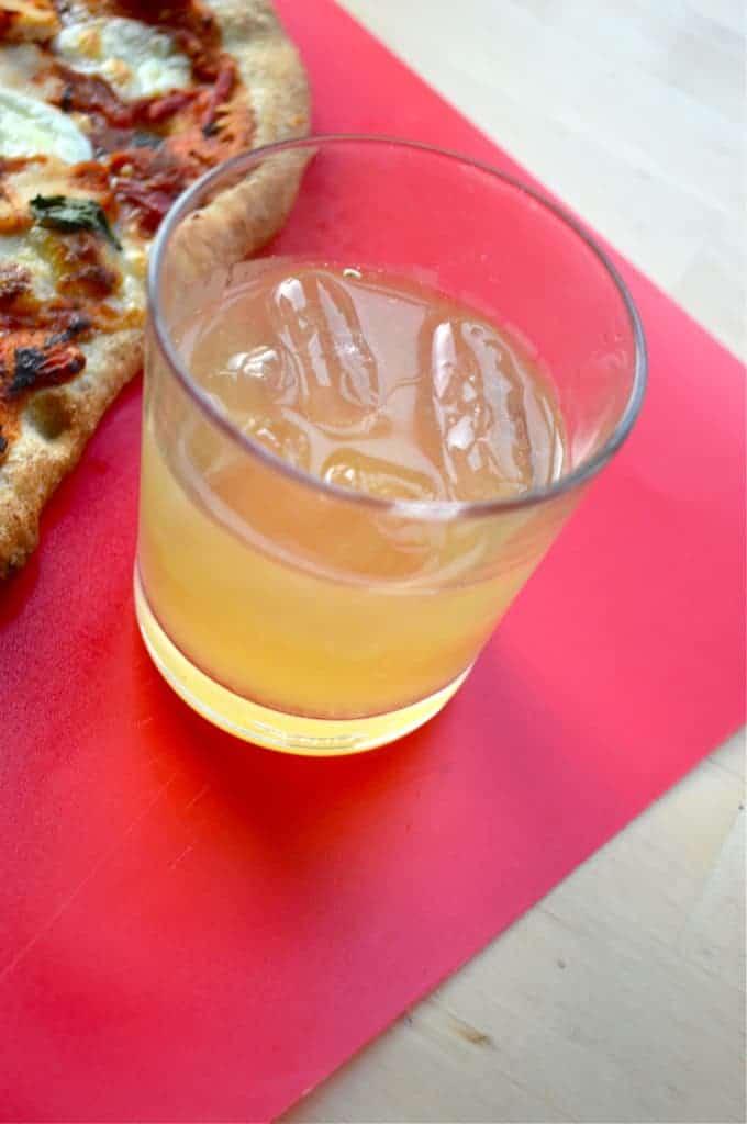 Beer, Grapefruit & Vodka Cocktail