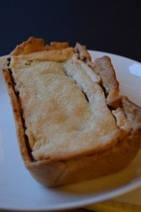 Pork Apple and Cider Pie