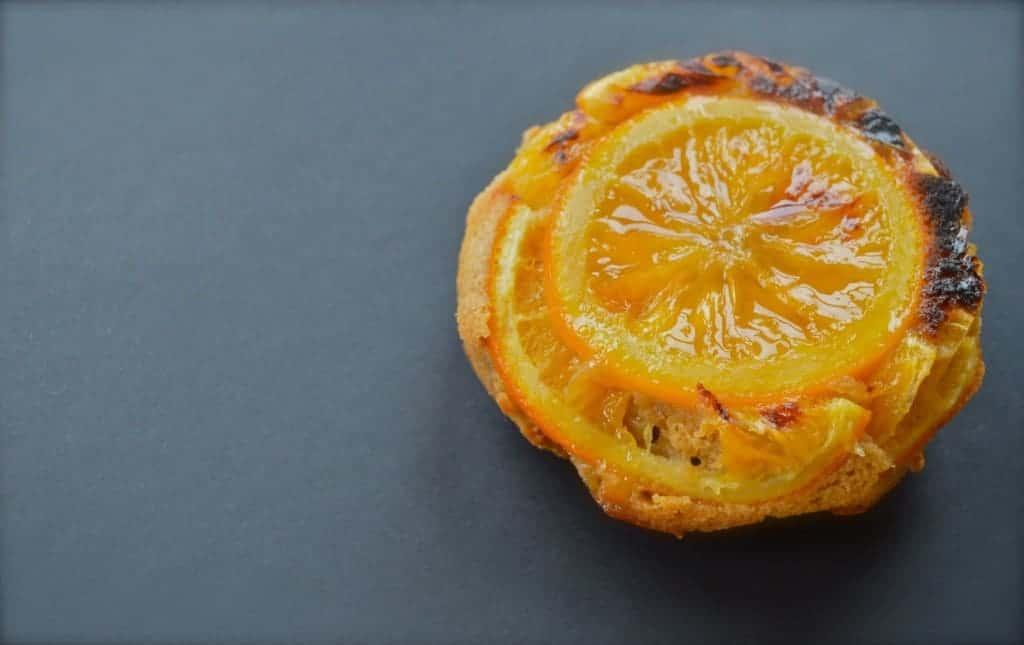 Orange and gin Upside-down cake