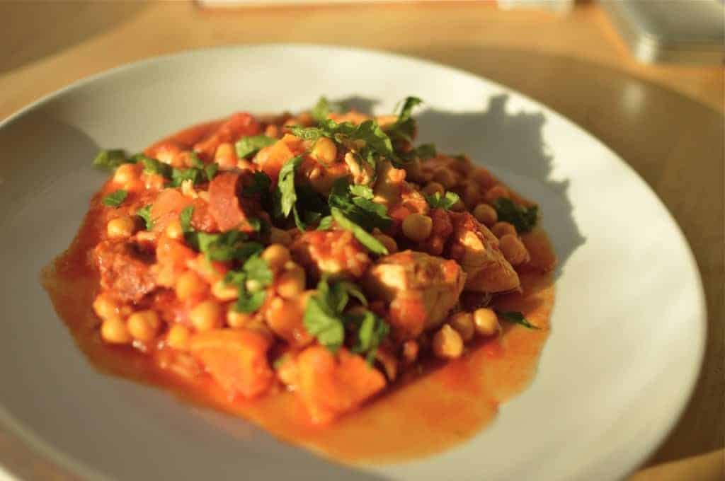 Chicken & Chorizo Dinner
