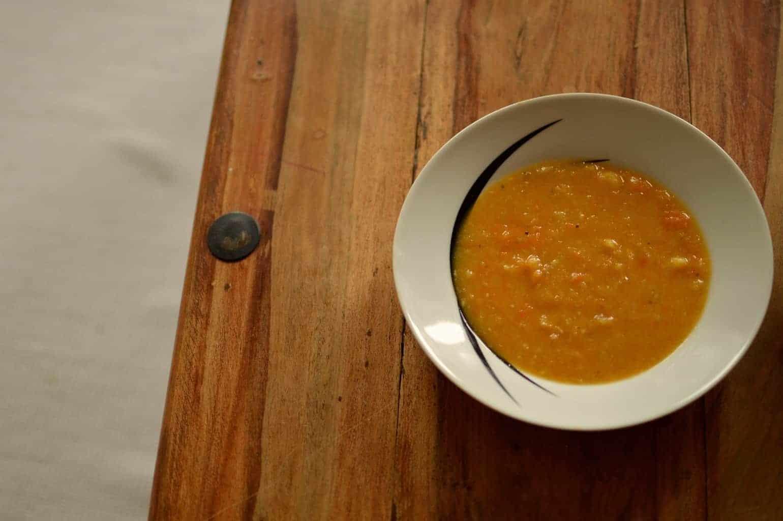 Ginger & Parsnip Soup
