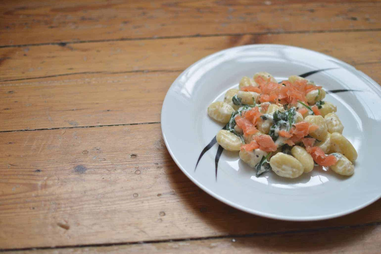 Gnocchi Royal - Smoked Salmon Gnocchi