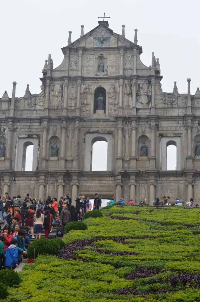 St Paul's Cathedral ruins, Macau