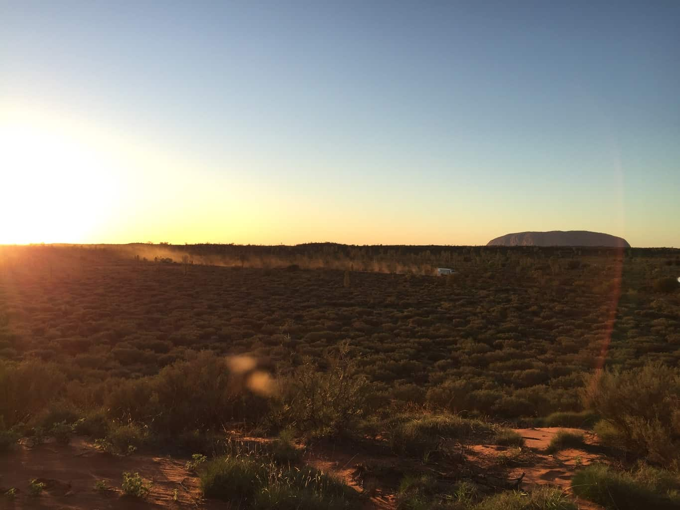 Uluru at Sunrise, Australia