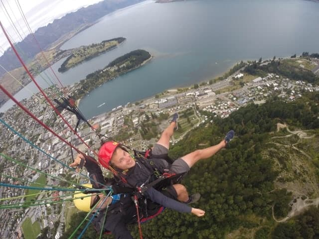 Paragliding Queenstown, New Zealand