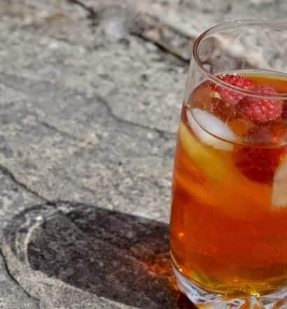 Raspberry Rooibos Ice Tea