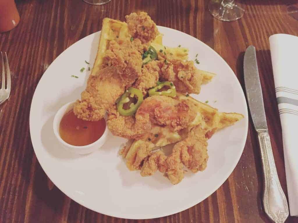 Butter Chicken, Waffles