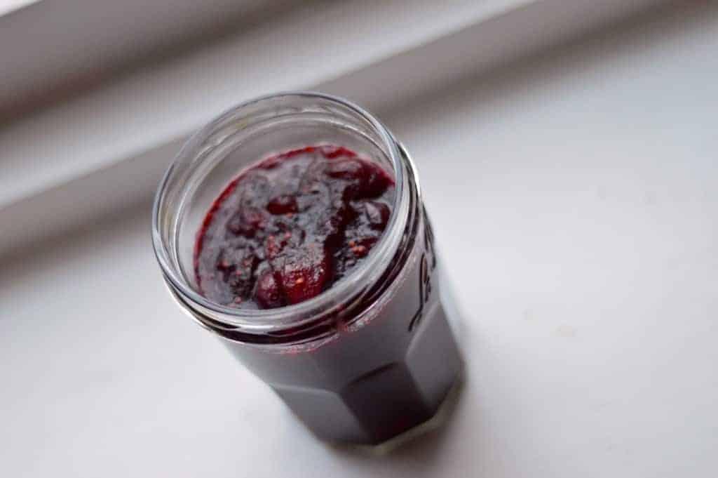 10 minute cranberry sauce