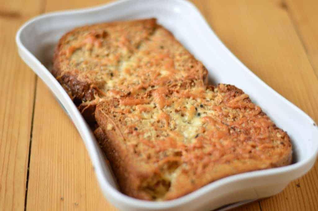Baked Croque monsieur