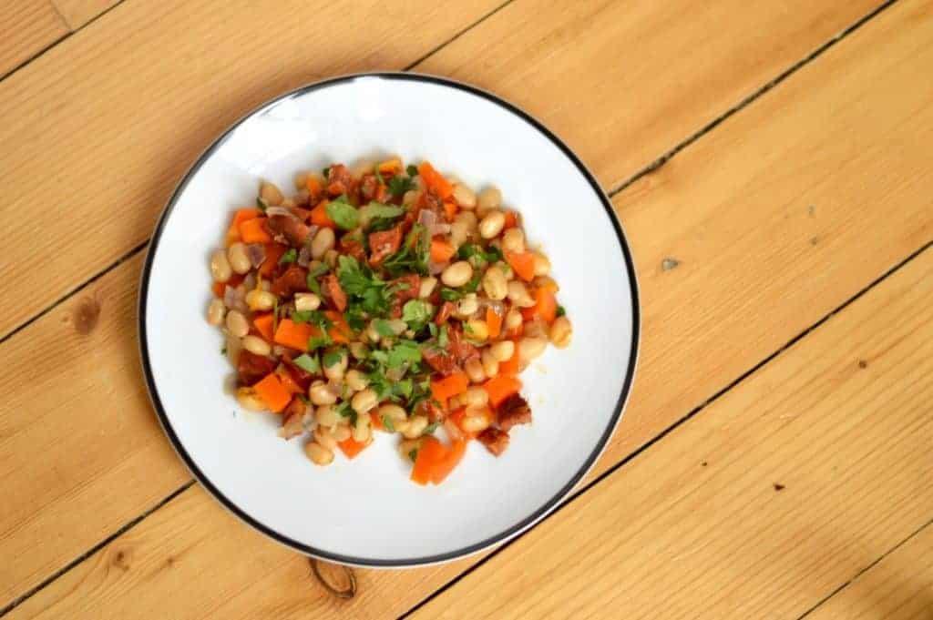 Haricot bean stew