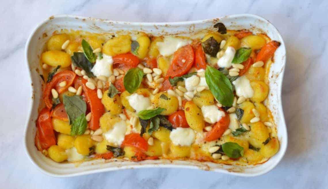 crispy baked gnocchi