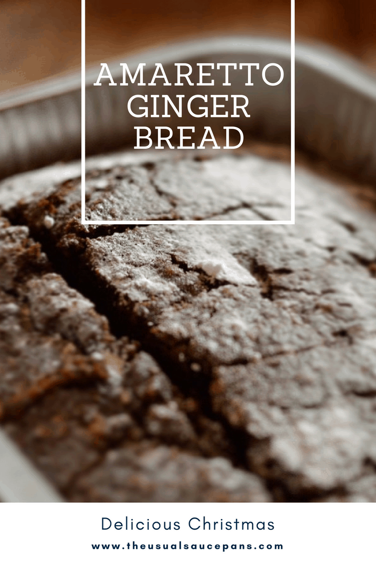 amaretto gingerbread pin