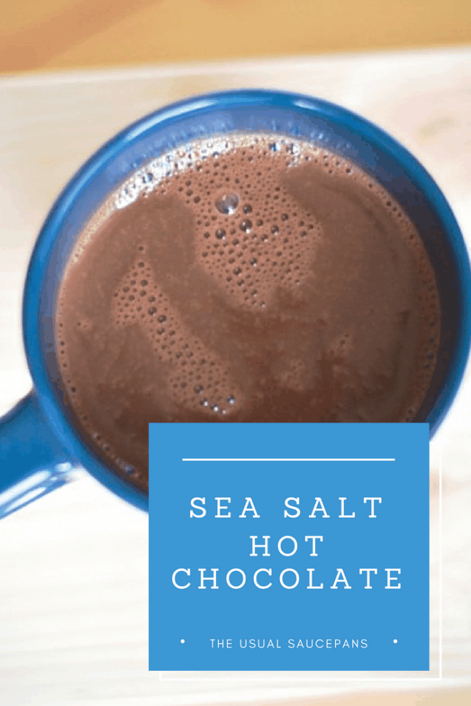 sea salt hot chocolate pin