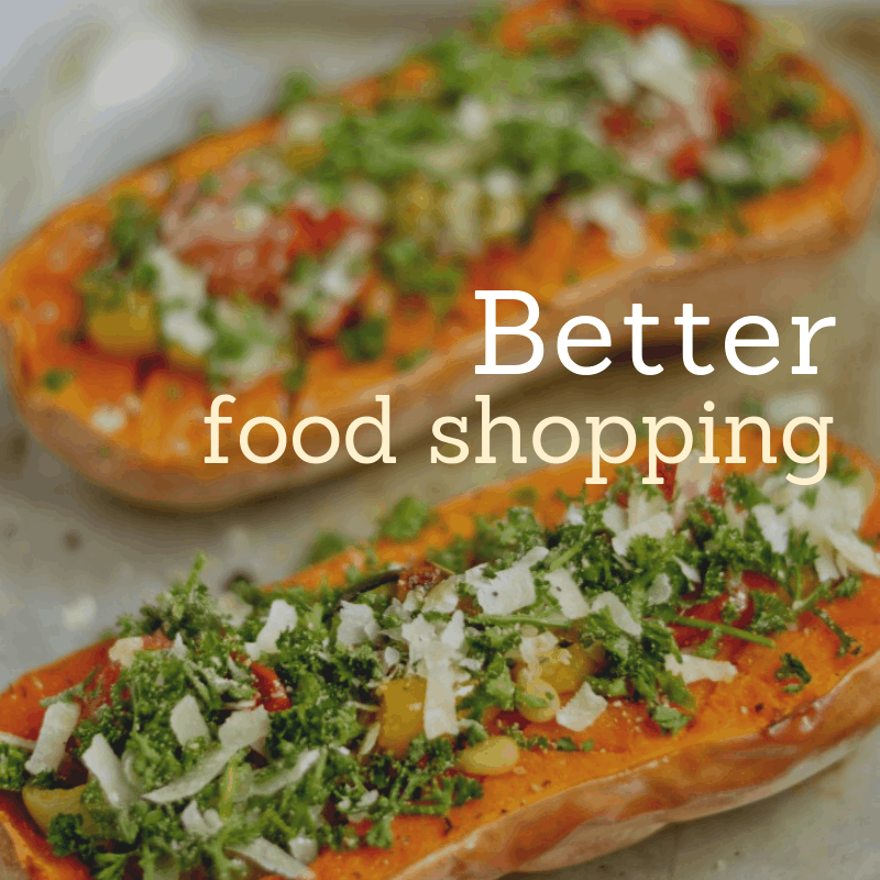 sustainability - better food shopping